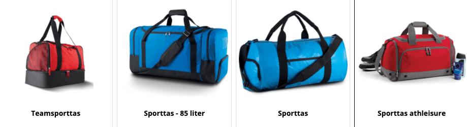 Sporttassen bedrukken