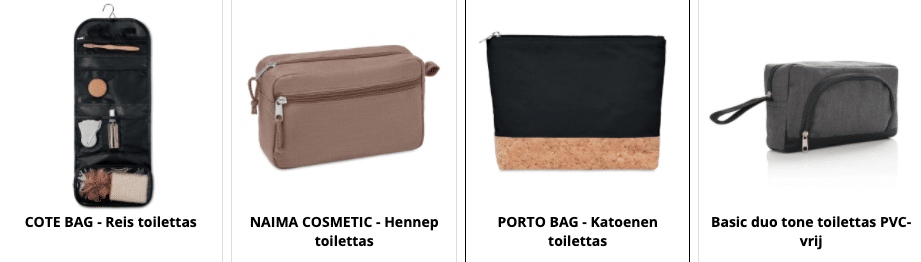 Toilettassen bedrukken