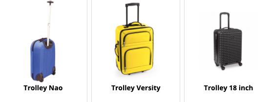 Trolleys bedrukken